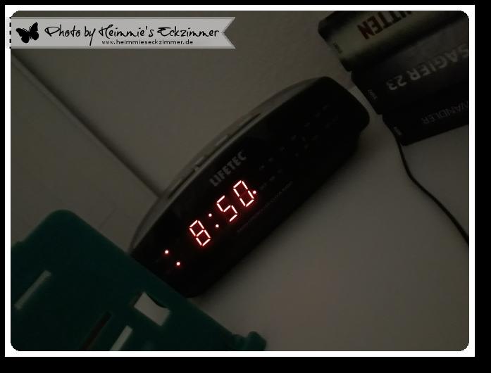Picture my Day Day #31: Der Wecker zeigt 8.40 Uhr.