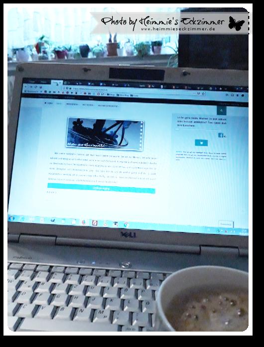 Picture my Day Day Ausgabe 31: Ablenkung mit Laptop und Kaffee